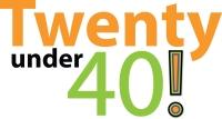 Twenty Under 40 Logo